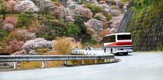 Busreisen in Japan